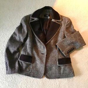 Talbots Brown Wool Blazer